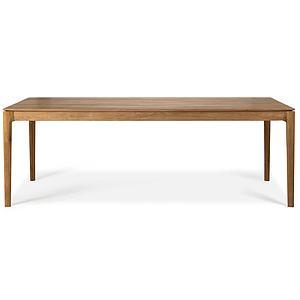 Table 95x220cm BOX Ethnicraft teck