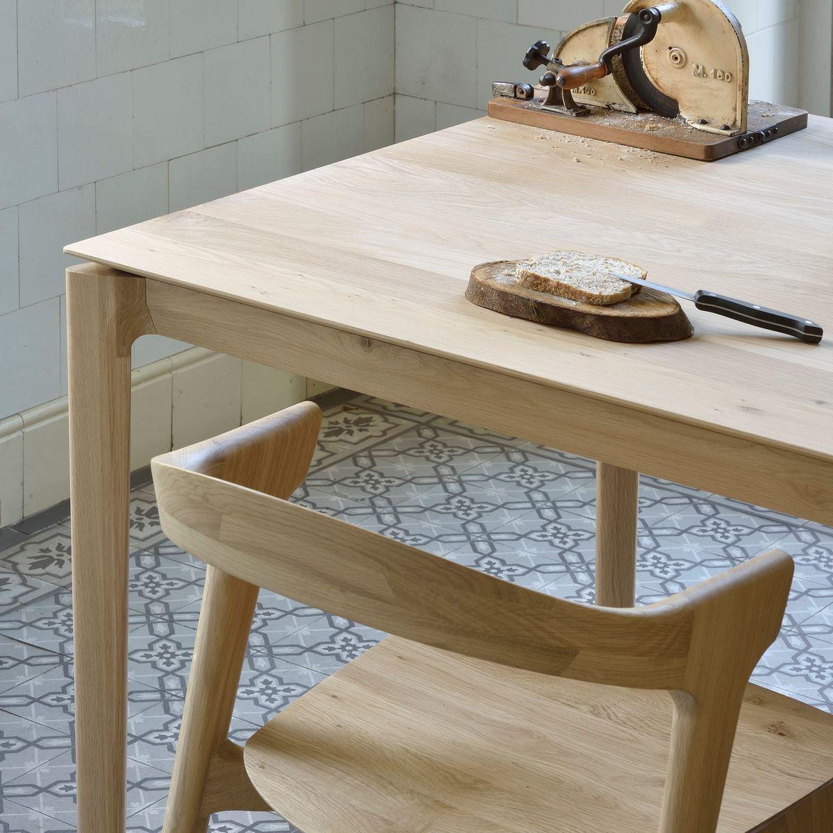 Table à manger BOK Ethnicraft 240x100cm chêne