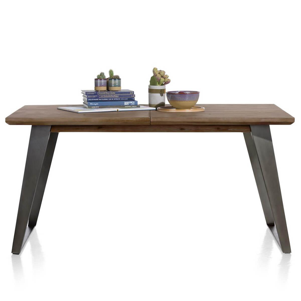 Table à rallonge 100x160/210cm BOX Henders & Hazel walnut
