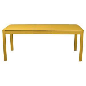 Table à rallonge 149/191x100cm RIBAMBELLE Fermob miel