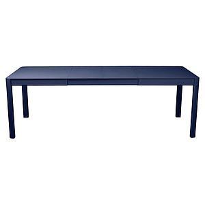 Table à rallonge 149/234x100cm RIBAMBELLE Fermob Bleu Abysse