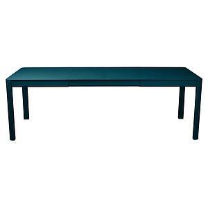 Table à rallonge 149/234x100cm RIBAMBELLE Fermob bleu acapulco