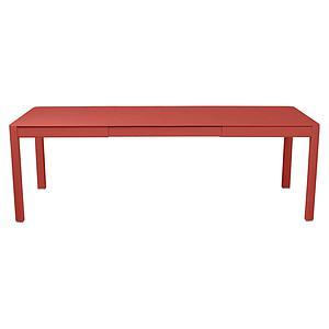 Table à rallonge 149/234x100cm RIBAMBELLE Fermob Capucine