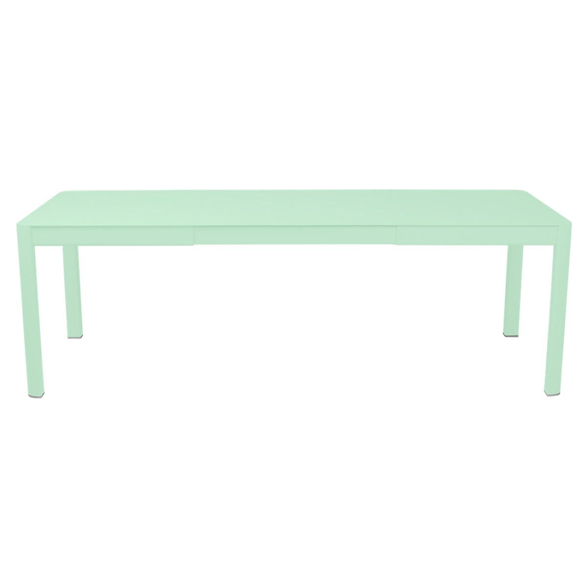 Table à rallonge 149/234x100cm RIBAMBELLE Fermob vert opaline