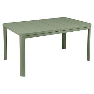 Table à rallonge 155/255x100cm OLERON Fermob cactus