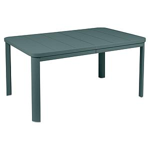 Table à rallonge 155/255x100cm OLERON Fermob gris orage