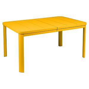 Table à rallonge 155/255x100cm OLERON Fermob miel