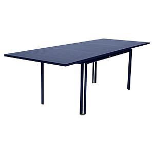 Table à rallonge 90x160/240cm COSTA Fermob Bleu Abysse