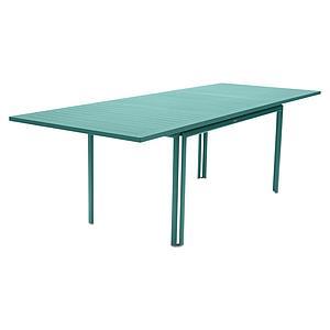 Table à rallonge 90x160/240cm COSTA Fermob Bleu lagune