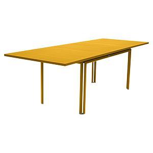 Table à rallonge 90x160/240cm COSTA Fermob miel