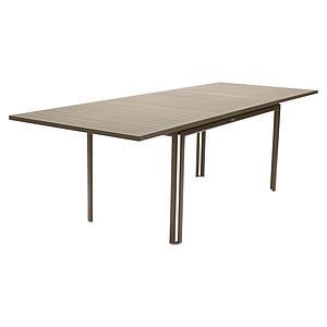 Table à rallonge 90x160/240cm COSTA Fermob muscade