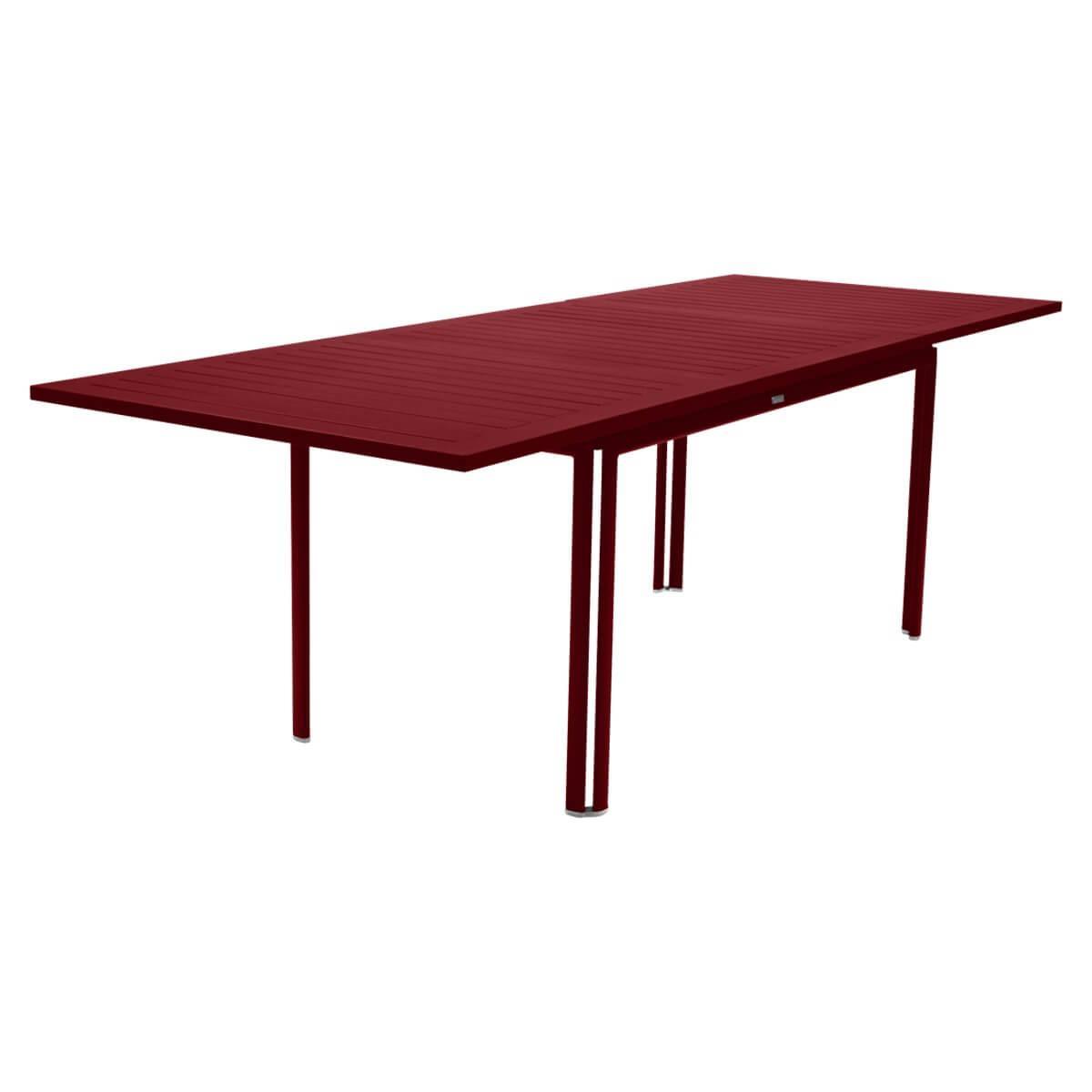 Table à rallonge 90x160/240cm COSTA Fermob piment