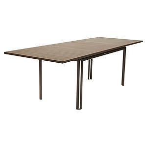 Table à rallonge 90x160/240cm COSTA Fermob rouille