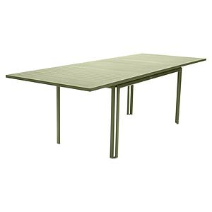 Table à rallonge 90x160/240cm COSTA Fermob tilleul