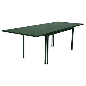 Table à rallonge 90x160/240cm COSTA Fermob vert cèdre