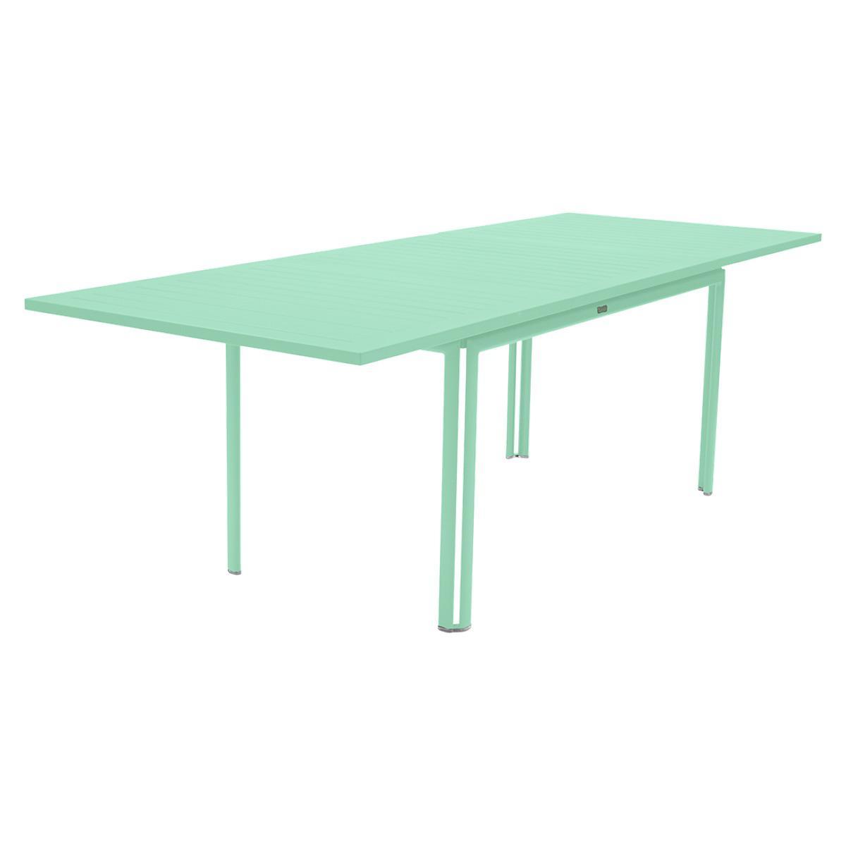 Table à rallonge 90x160/240cm COSTA Fermob vert opaline