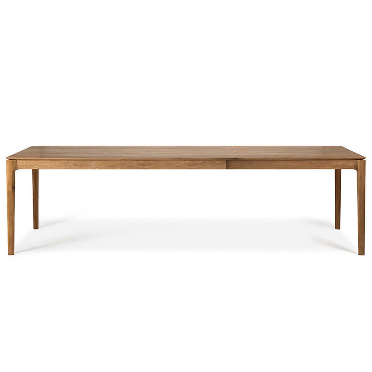 Table à rallonges 90x160/240cm BOX Ethnicraft teck