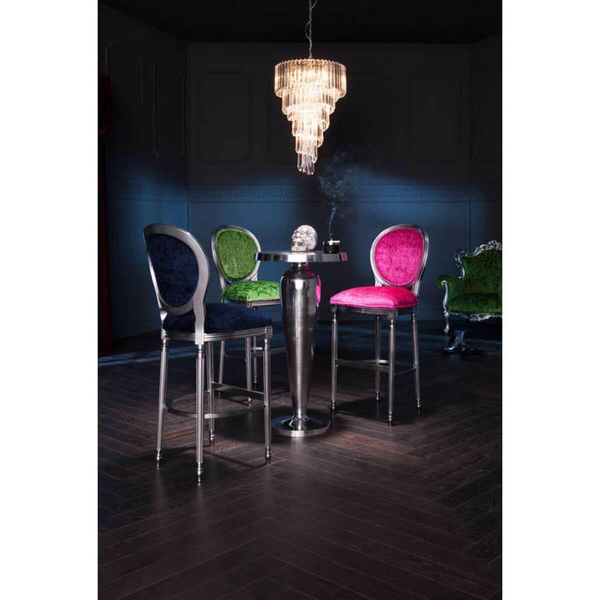Table bar ROCKSTAR Kare Design alu