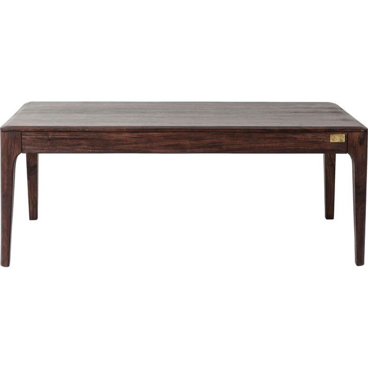 Table basse Brooklyn Walnut Kare Design 115x60cm