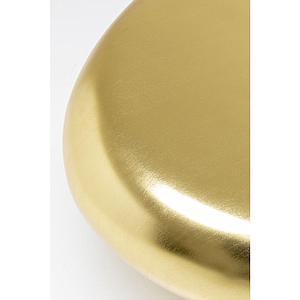 Table basse 122x96cm PEBBLE Kare Design doré