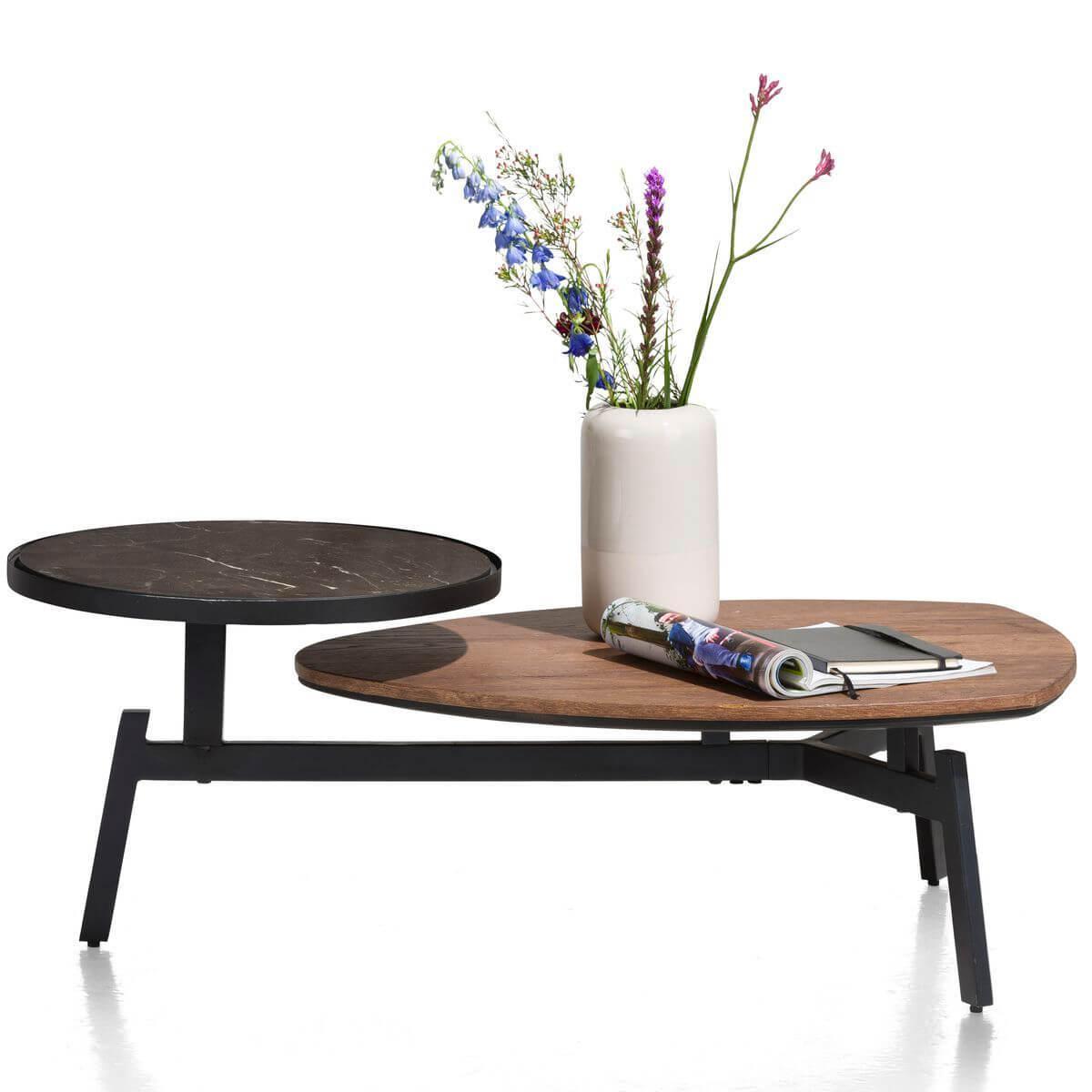 Table basse 65x125cm HALMSTAD Xooon