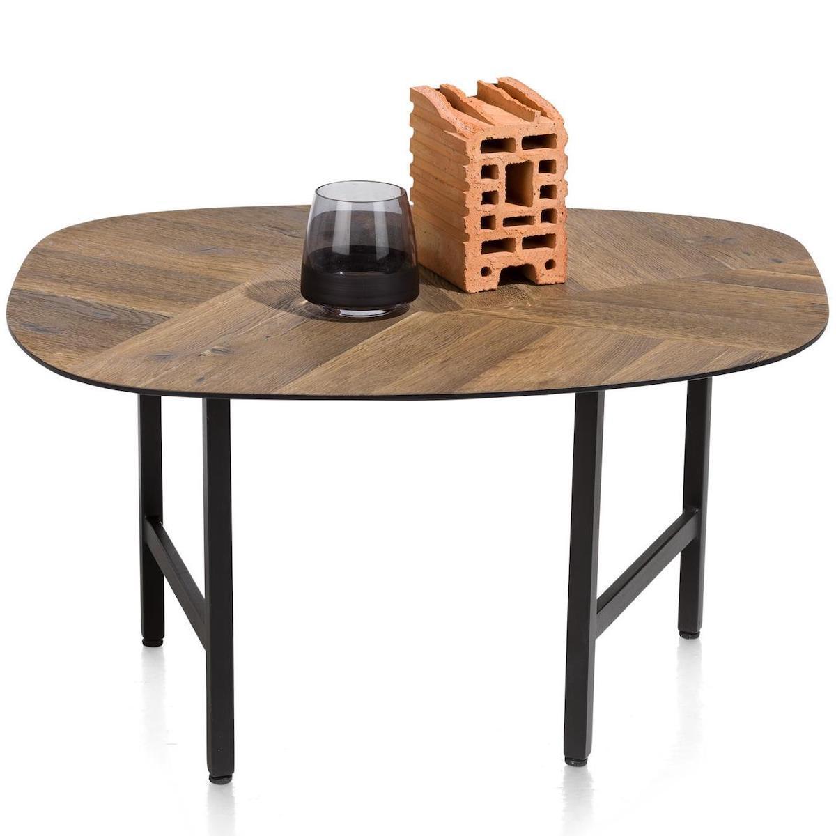 Table basse 70x60cm FRESNO Xooon mosaïque
