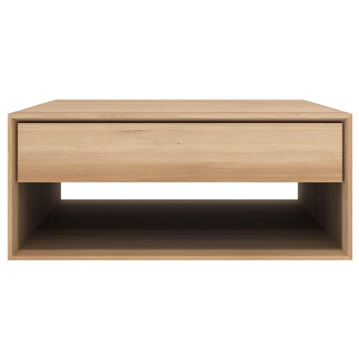 Table basse 80cm NORDIC Ethnicraft chêne