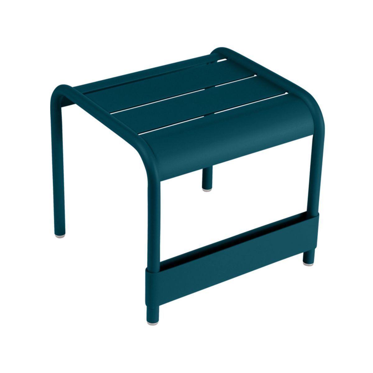 Table basse Luxembourg Fermob petit bleu acapulco