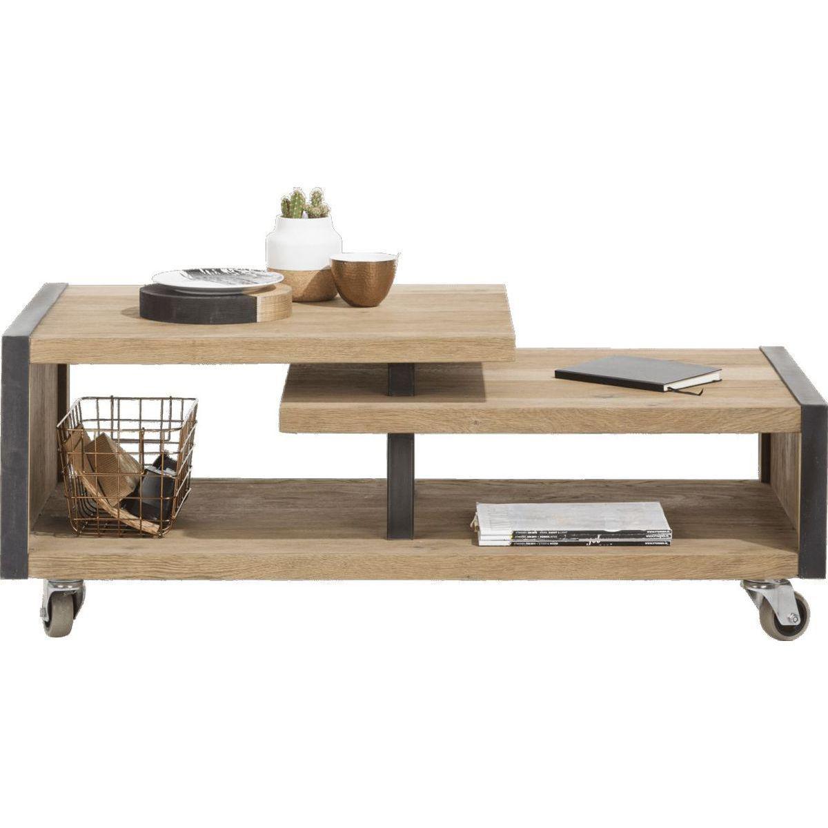 Table basse METALO HetH 120x60cm