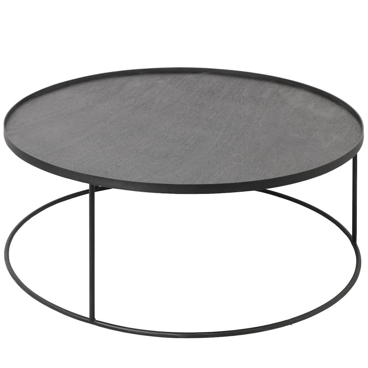 Table basse ronde 93cm TRAY XL Ethnicraft