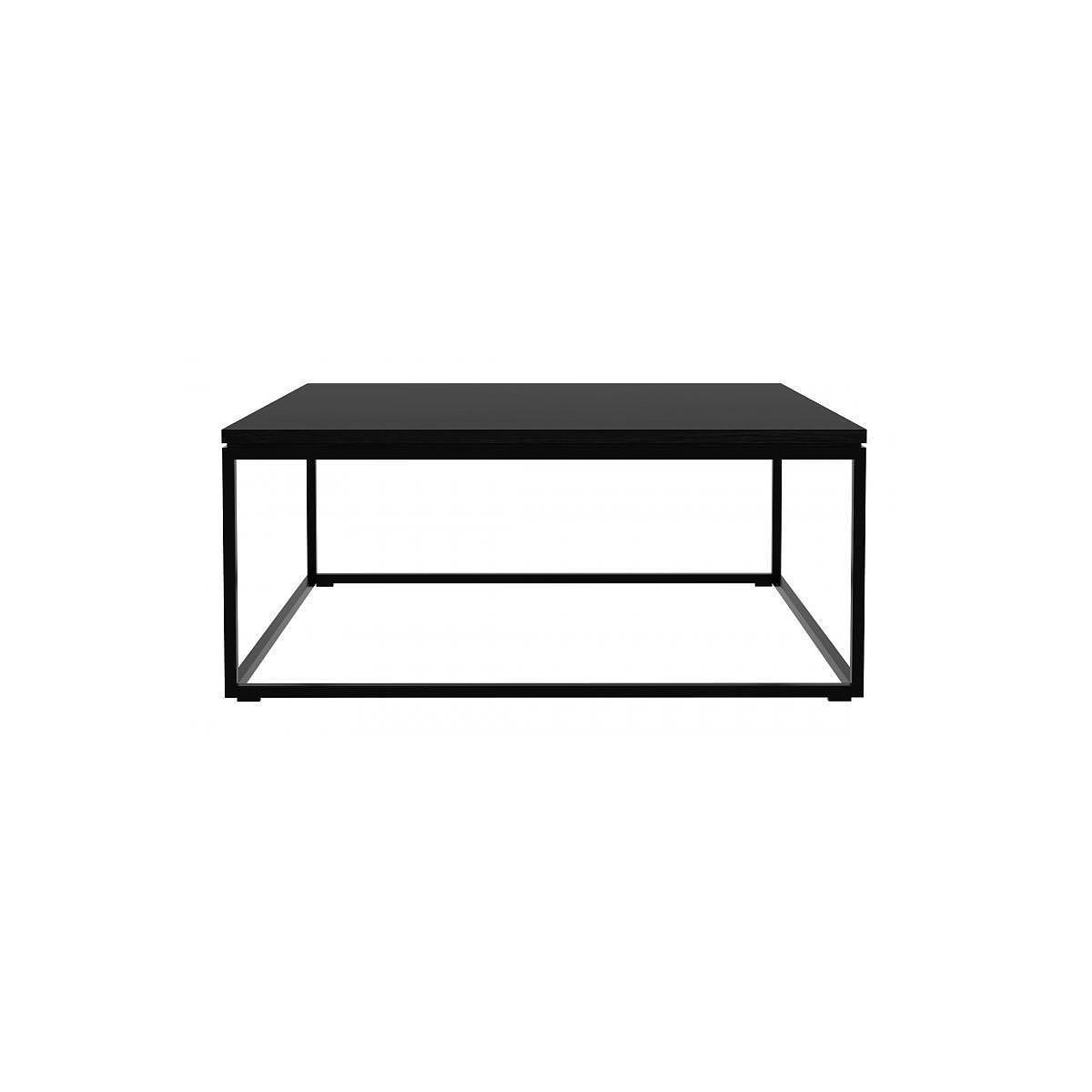 Table basse THIN Ethnicraft chêne teinté noir