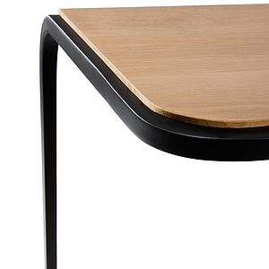 Table d'appoint 40x40cm N701 Ethnicraft chêne