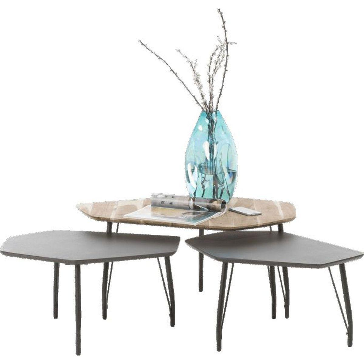 Table d'appoint CENON Xooon Set de 3