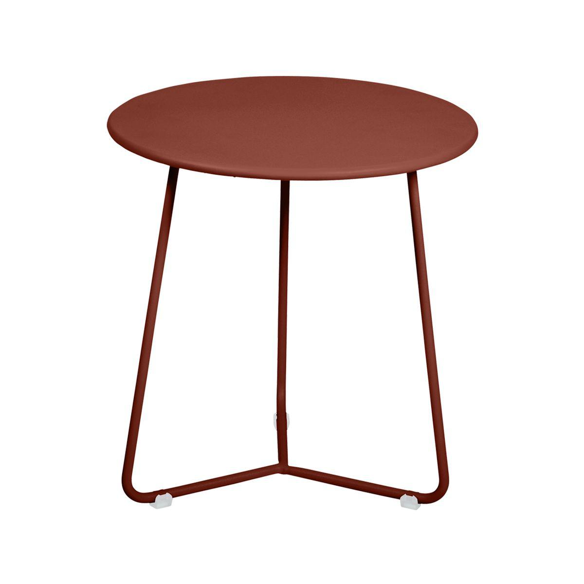 Table d'appoint COCOTTE Fermob rouge ocre