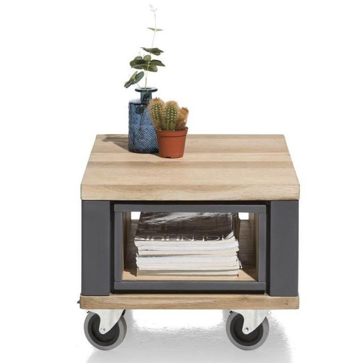 Table d'appoint JARDIN H&H anthracite