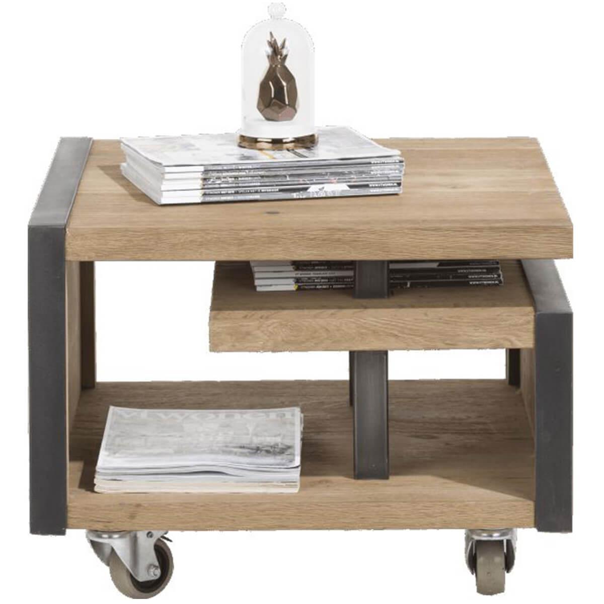 Table d'appoint METALO HetH 60x60cm