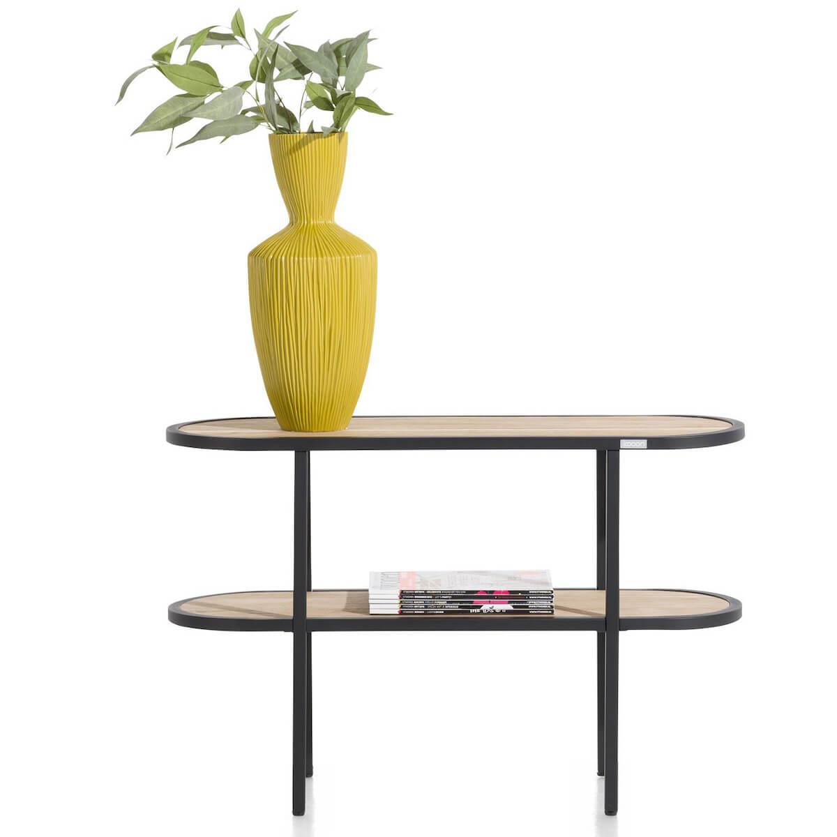 Table d'appoint ovale 90cm KINNA Xooon