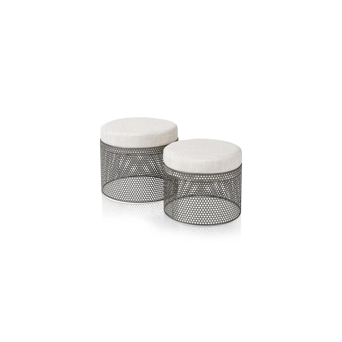 Table d'appoint ROCHE Coco Maison Set de 2