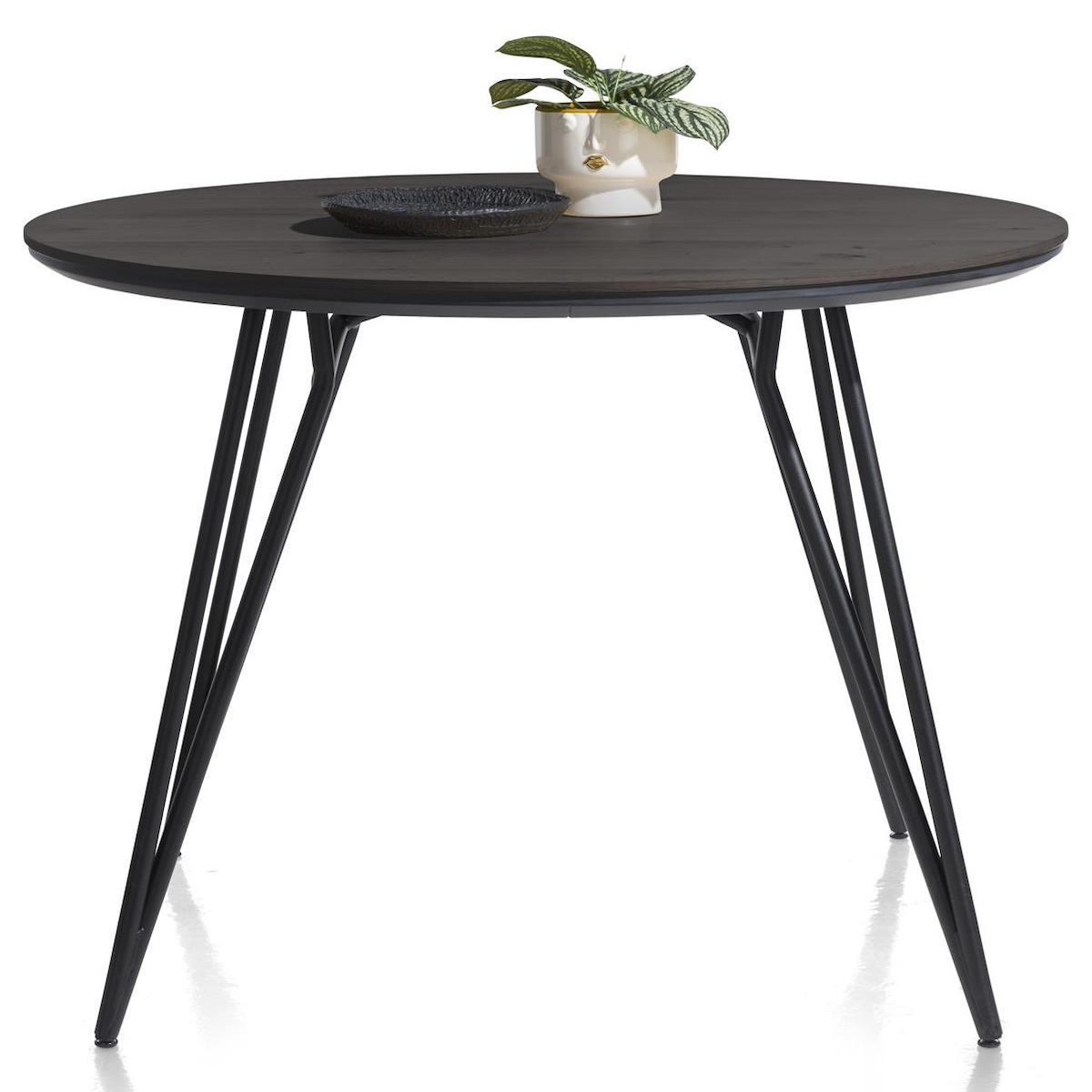 Table de bar 130cm VIK Xooon onyx