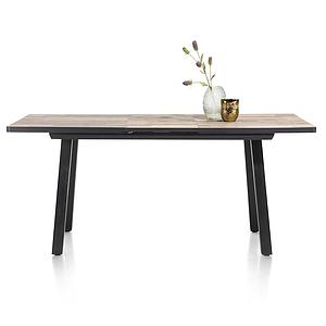 Table de bar extensible 98x190/250cm AVALOX Henders & Hazel driftwood-pieds simple