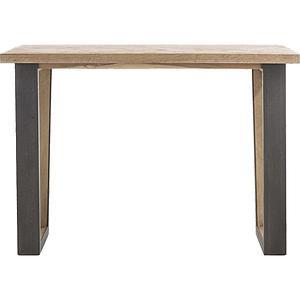 Table de bar METALOX Henders & Hazel 130x90cm pied x bord droit