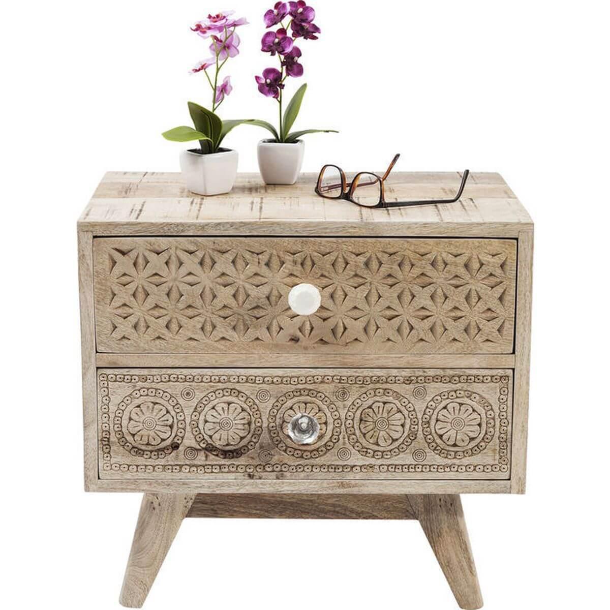 Table de chevet Puro Kare Design 50x35cm