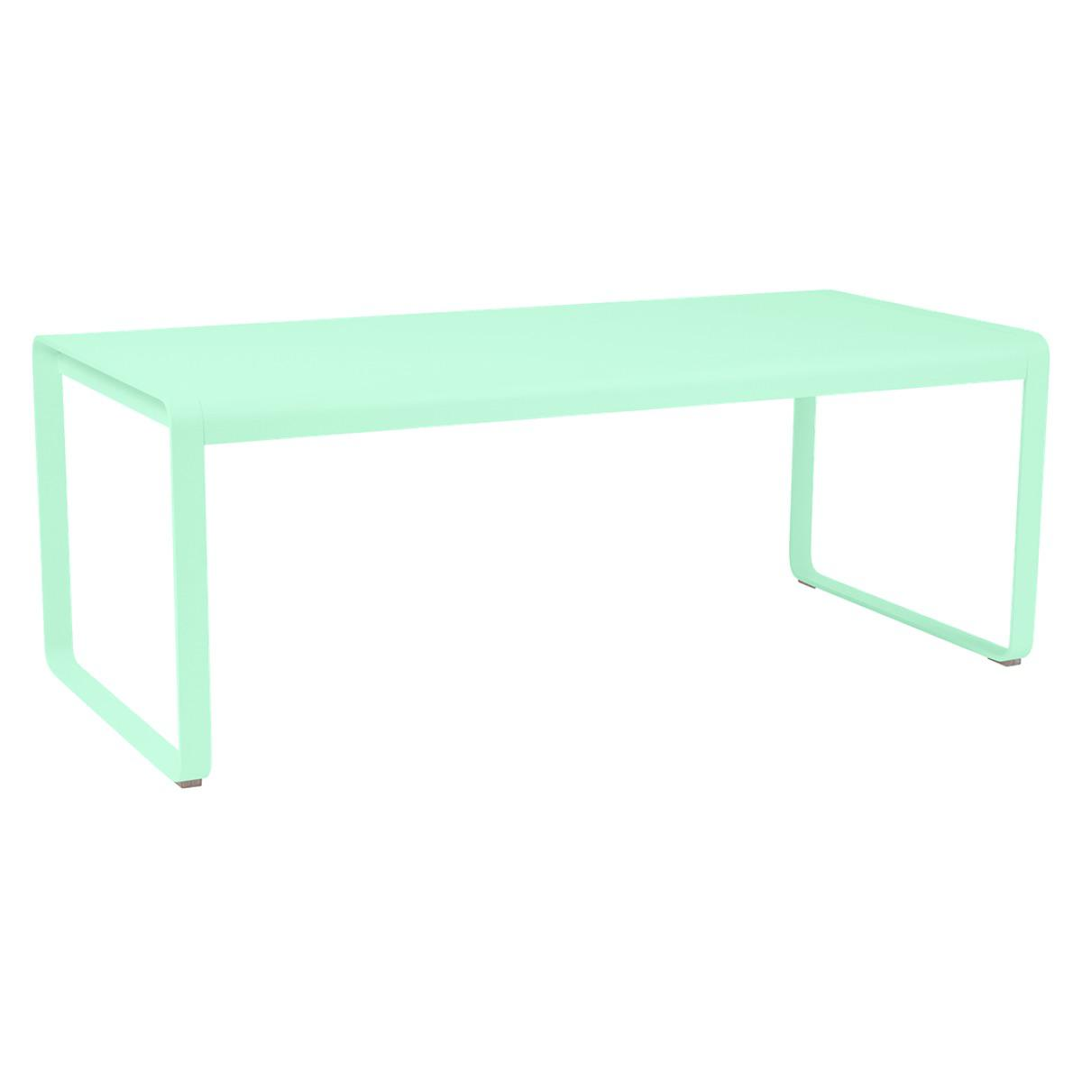 Table de jardin 196x90cm BELLEVIE Fermob vert opaline