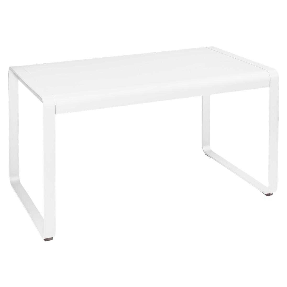 Table de jardin 80x140cm BELLEVIE Fermob coton