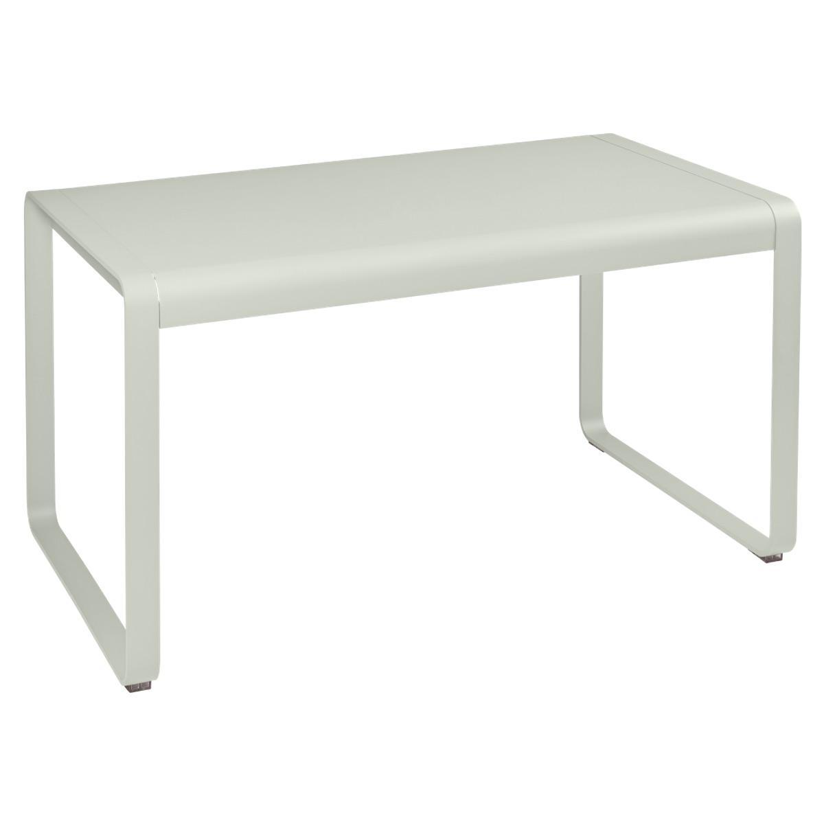 Table de jardin 80x140cm BELLEVIE Fermob gris argile