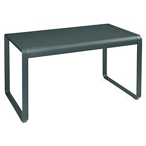 Table de jardin 80x140cm BELLEVIE Fermob gris orage