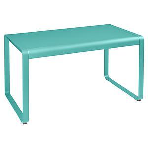 Table de jardin 80x140cm BELLEVIE Fermob lagune
