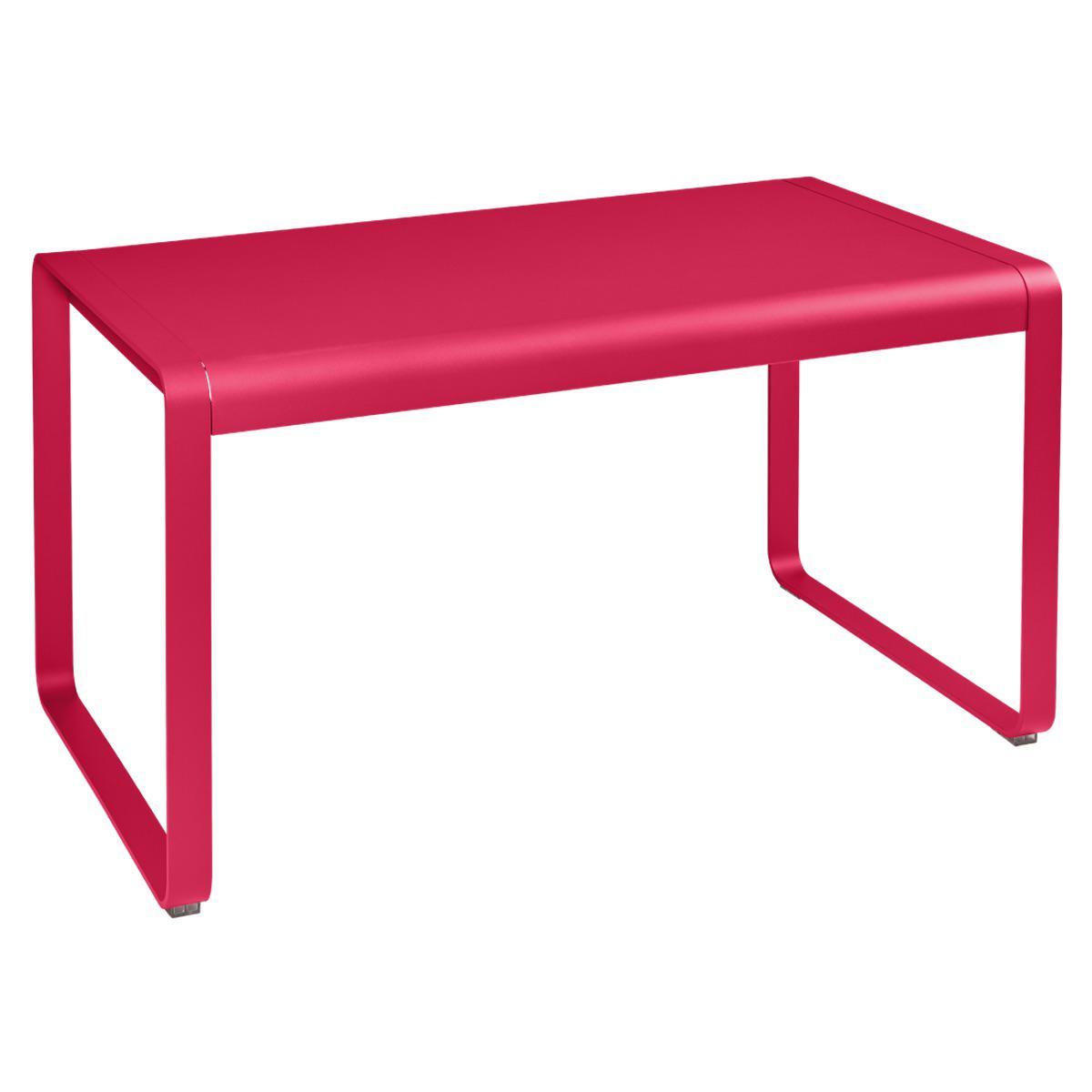 Table de jardin 80x140cm BELLEVIE Fermob rose praline