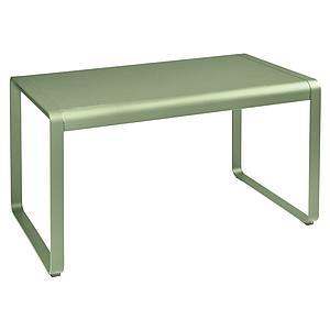 Table de jardin 80x140cm BELLEVIE Fermob tilleul