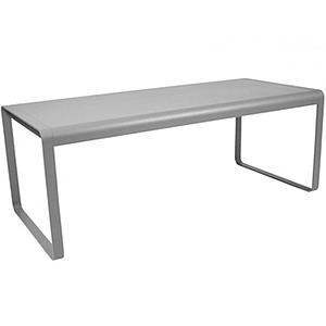 Table de jardin BELLEVIE Fermob gris métal | abitare-living.lu